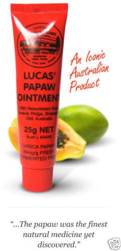 Лечебный бальзам с экстрактом папайи Lucas Papaw Ointment