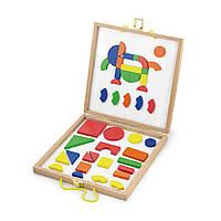 Набор магнитных блоков Viga Toys Формы и Цвет (59687)