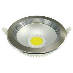 Светодиодный светильник Horoz (HL695L) 8W 4200K кругл. хром мат (потолочный) Код.56122