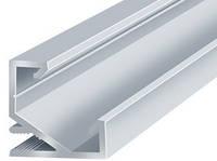 Алюминиевый профиль угловой ЛПУ17*17мм для LED ленты серебро (за 1м) Код.56632