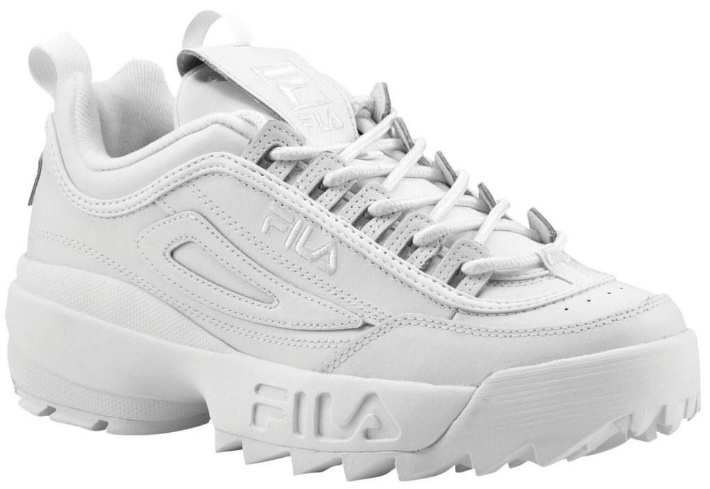 259e4574eb96e Женские кроссовки Fila Disruptor II All White топ реплика -  Интернет-магазин обуви и одежды