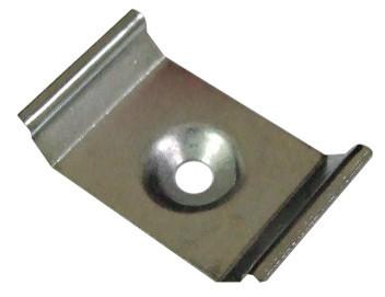 Кліпса для кріплення кутового профілю 25*10мм (1шт) Код.57806