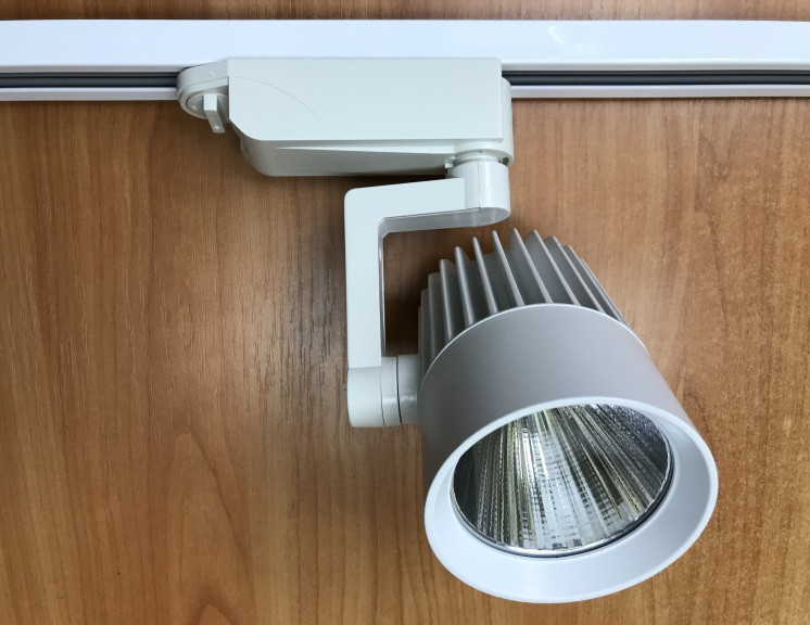 Светодиодный трековый светильник SL-4003 30W 6400К белый Код.58050