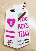Силиконовый чехол Boys Tears для iPhone 7/8, Белый