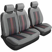 Чехлы на сиденья Beltex 2+1 тип В серый без подголовников