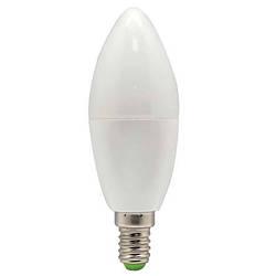 Світлодіодна лампа Feron LB-97 C37 E14 5W 2700K 230V Код.58374