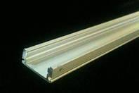 Алюминиевый профиль SL7*17.5мм для LED ленты серебро (за 1м) Код.58386