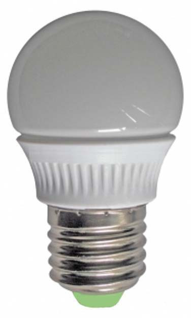 Светодиодная лампа Lemanso LM324 G45 E27 4.2W 6500K Код.58410