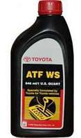 Масло трансмиссионное TOYOTA ATF WS 1qt (946 ml)