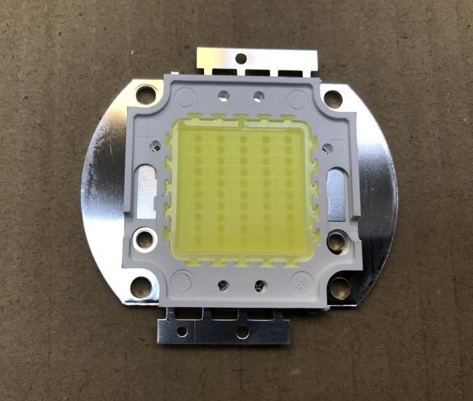 Світлодіод матричний PREMIUM СОВ для прожектора SL-50 50W 6500К (45Х45 mil) Код.58829