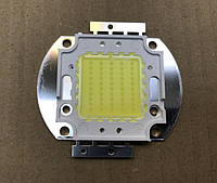 Светодиод матричный PREMIUM СОВ для прожектора SL-50 50W 6500К (45Х45 mil) Код.58829