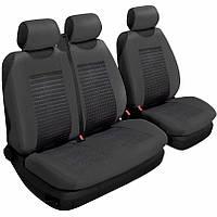 Авточехлы на сиденья (передние) универсальные Beltex 2+1 тип В черный без подголовников (54210)