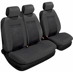 Чехлы на сиденья Beltex 2+1 тип В черный без подголовников