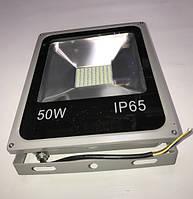 Светодиодный прожектор со встроенным датчиком движения PREMIUM SL-050D 50W 6000K IP 65 Код.57024