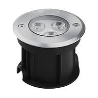Светодиодный тротуарный линзованный светильник SP4111 3W 2700K IP67 Код.58887