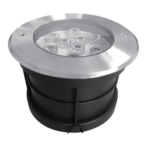 Светодиодный тротуарный линзованный светильник SP4113 9W 2700K IP67 Код.58892