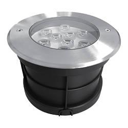 Світлодіодний тротуарний линзованный світильник SP4113 9W 2700K IP67 Код.58892