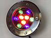 Светодиодный тротуарный линзованный светильник LM10 9W RGB IP65 220V Код.58903, фото 4