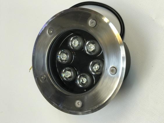 Светодиодный тротуарный линзованный светильник LM11 6W RGB IP65 220V Код.58901