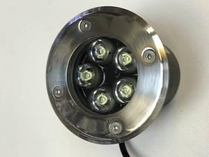 Світлодіодний тротуарний линзованный світильник LM987 5W 6500K IP65 220V Код.58900