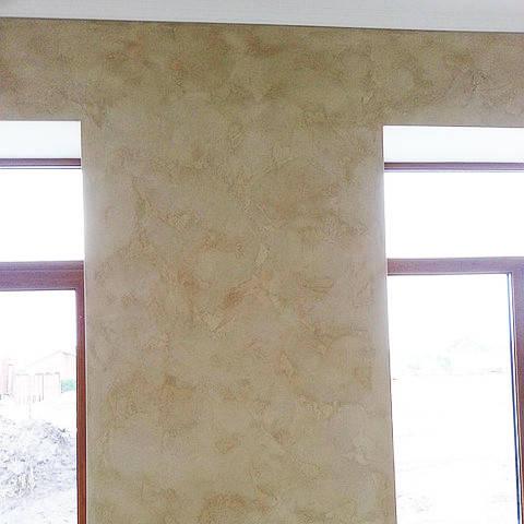 Декоративная штукатурка Травертин для стен
