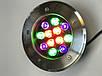 Светодиодный тротуарный линзованный светильник LM999 12W RGB IP65 220V Код.58905, фото 4