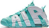 Женские кроссовки Nike Air More Uptempo Island Green