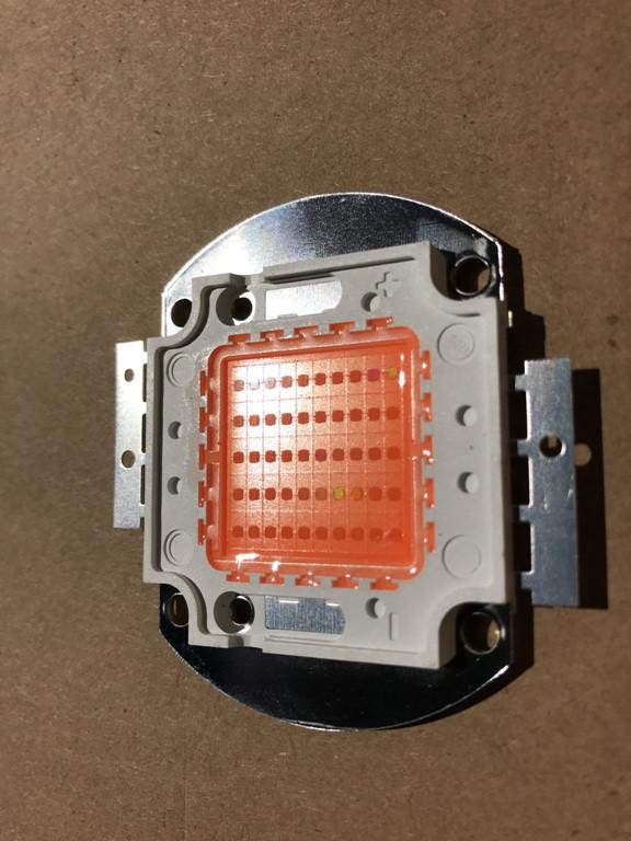 Фіто світлодіод матричний СОВ SL-50F 50W full spectrum led PREMIUM (45Х45 mil) Код.59050