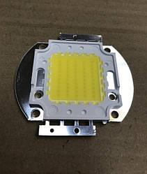 Светодиод матричный PREMIUM СОВ для прожектора SL-50 50W 4100К (45Х45 mil) Код.59118