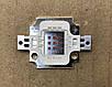 Светодиод матричный PREMIUM СОВ для прожектора SL-10 10W 300mA желтый (45Х45 mil) Код.59128, фото 2