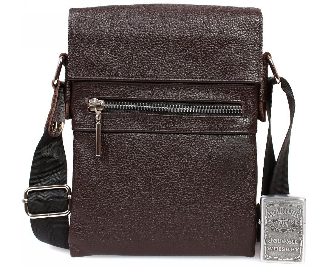 Кожаная мужская сумка Италия 140909