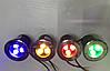 Светодиодный тротуарный линзованный светильник LM986 3W красный, синий, зеленый, желтый Код.59136, фото 5