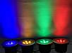 Светодиодный тротуарный линзованный светильник LM988 7W красный, синий, зеленый, желтый Код.59139, фото 2