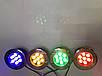 Светодиодный тротуарный линзованный светильник LM988 7W красный, синий, зеленый, желтый Код.59139, фото 4