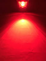 Светодиодный линзованый прожектор SL-30Lens 30W красный IP65 Slim Код.59151