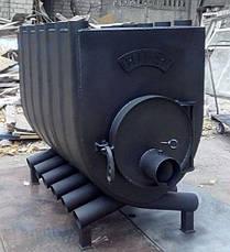 Буржуйка булерьян тип 02 с варочной плитой увеличенный, фото 3