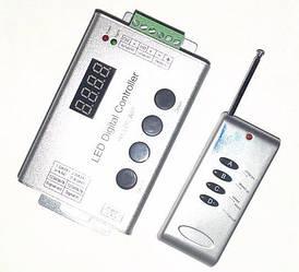 Контролер до біжучої хвилі 1 segment LED 12A, (4 кнопки) радіо дистанційне управленине Код.54337