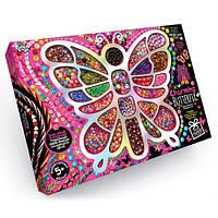 """Набор для изготовления бижутерии """"Очаровательная бабочка"""" Danko Toys Украина"""
