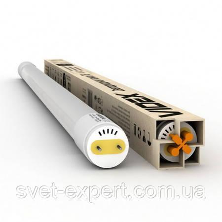 LED лампа VIDEX T8b  9W 0.6M 6200K/4100К 220V матова