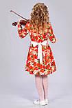 Нарядное детское платье с бантом, фото 2