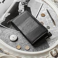 Женский кошелек-клатч  ITALIA  Black