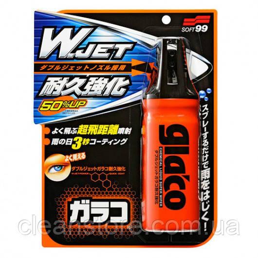 """Водоотталкивающий спрей антидождь Soft99 GLACO """"W"""" JET STRONG"""