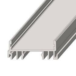 Алюминиевый профиль ЛСС для LED ленты серебро (за 1м) Код.57819