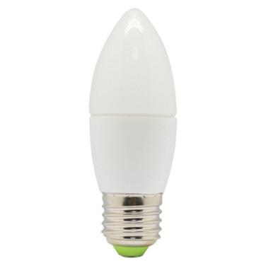 Светодиодная лампа Feron LB-97 C37 E27 7W 4000K 230V Код.57948