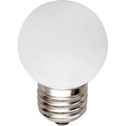 Светодиодная лампа Feron LB-37 G45 E27  1W белая 230V Код.58016