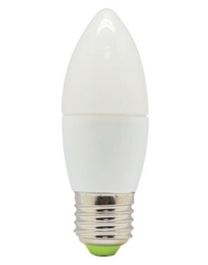 Светодиодная лампа Feron LB-97 C37 E27  7W 2700K 230V Код.58000