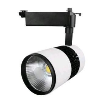 Светодиодный трековый светильник D30G  35W 6000K белый Код.58040