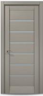 "Двери межкомнатные Папа карло ""Millenium ML-14"" пекан светло-серый"