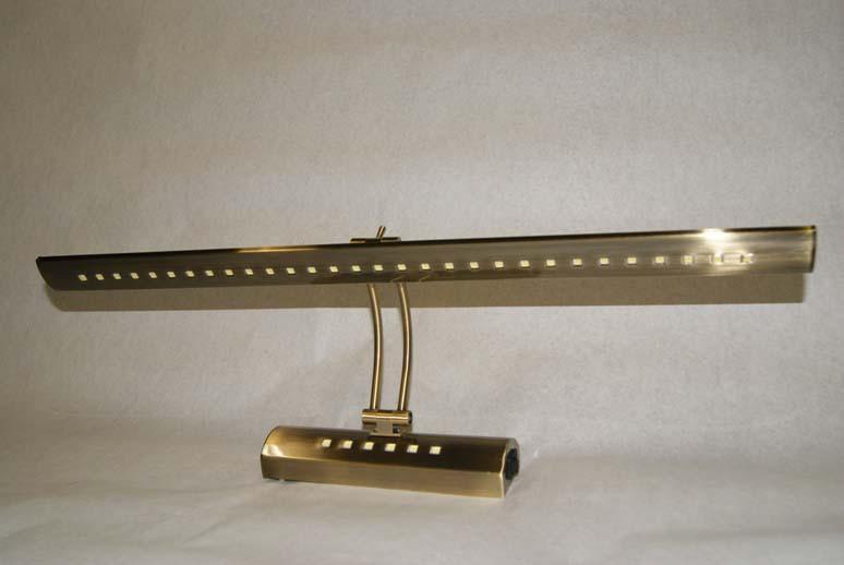 Светодиодная подсветка картин LM948LED 8W античное золото код.58220