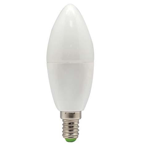 Світлодіодна лампа Feron LB-97 C37 E14 5W 4000K 230V Код.58228